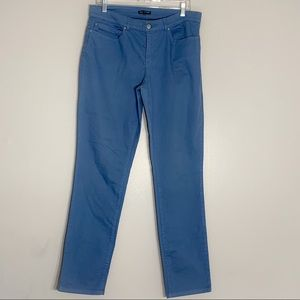 Eileen Fisher Organic Cotton Stretch Straight Pant